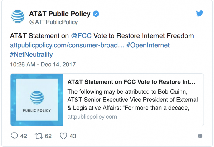 Repeal of Net Neutrality sparks debate on Internet freedom