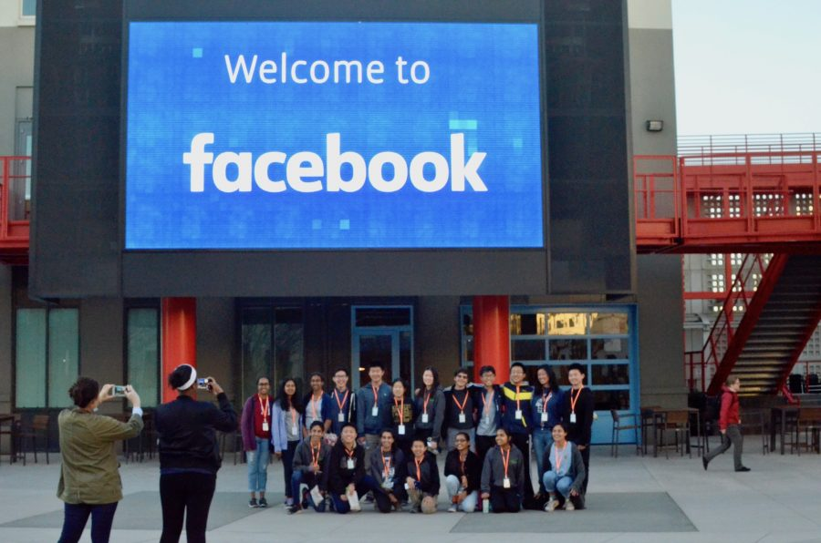 MVFBLA visits Facebook campus