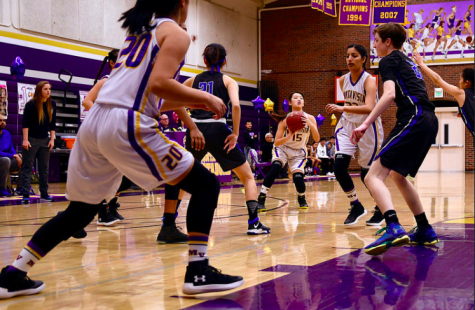 Girls basketball: Senior night game lost in final minutes of fourth quarter