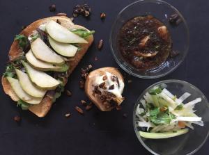 Crisp, Sweet, Savory: Pears three ways