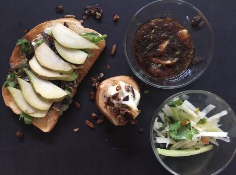Crisp, Sweet, Savory: Pears three ways