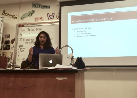 WiSTEM invites MVHS alumna to share her experiences from the tech industry