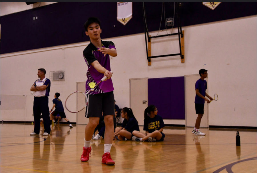 Badminton%3A+Team+gets+second+win+against+Cupertino+HS