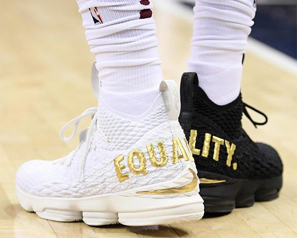 new styles b68a3 6975c Review: Nike LeBron 15 Equality – El Estoque