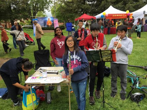 Play On: Tri-M Music Honors Society at the Cherry Blossom Festival