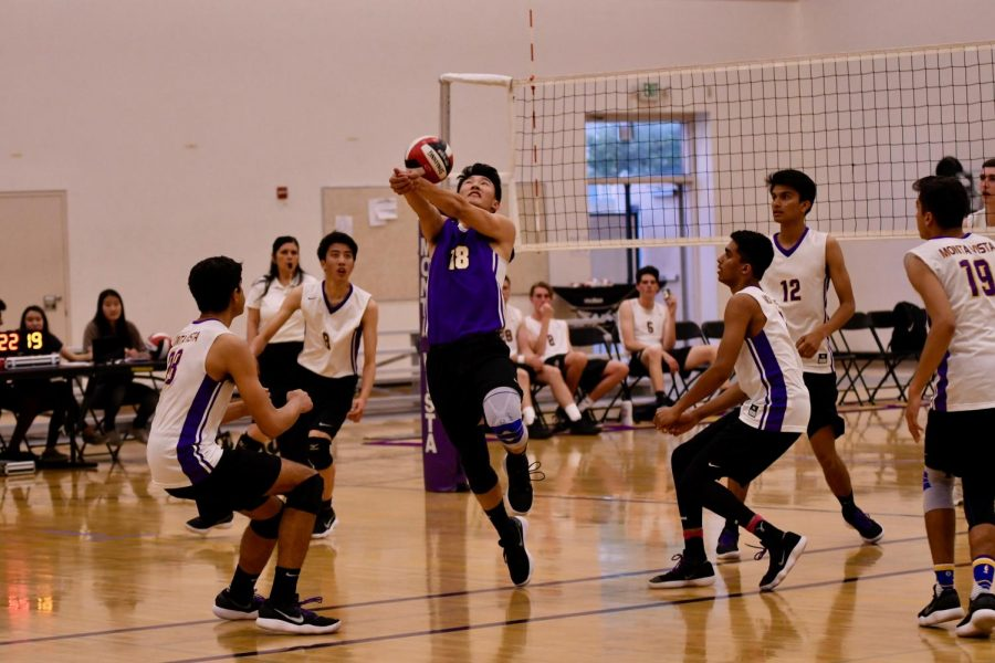 Boys+volleyball%3A+Team+sets+up+rematch+with+Bellarmine+CP+after+NorCal+quarterfinal+victory