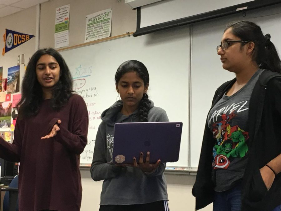 Drawing up a new team: ArtReach's officer team celebrates the success of their competition and begin looking for future officers