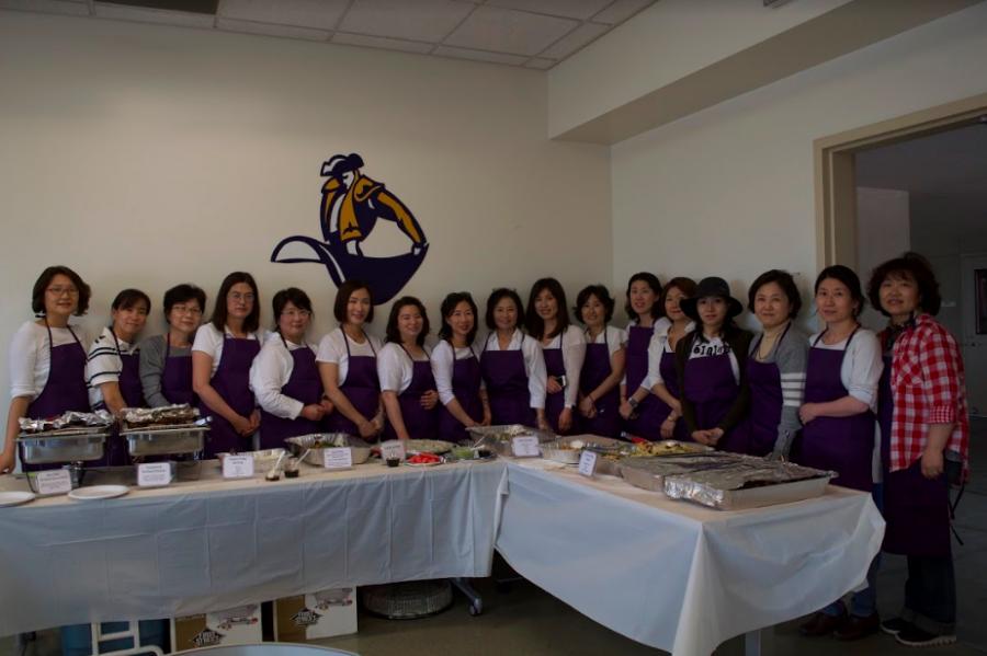 Korean PTA hosts annual staff appreciation barbecue