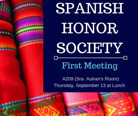 Spanish Honors Society: Previewing the upcoming year