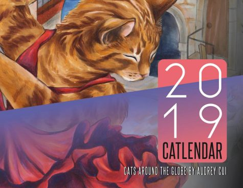 For the love of cats: Junior Audrey Cui explains how she made and sells her cat calendar
