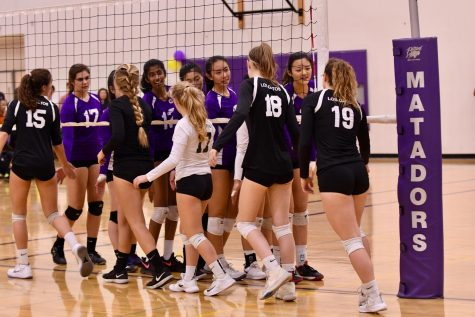 Girls Volleyball: Senior night performance falls short as Matadors lose 3-1