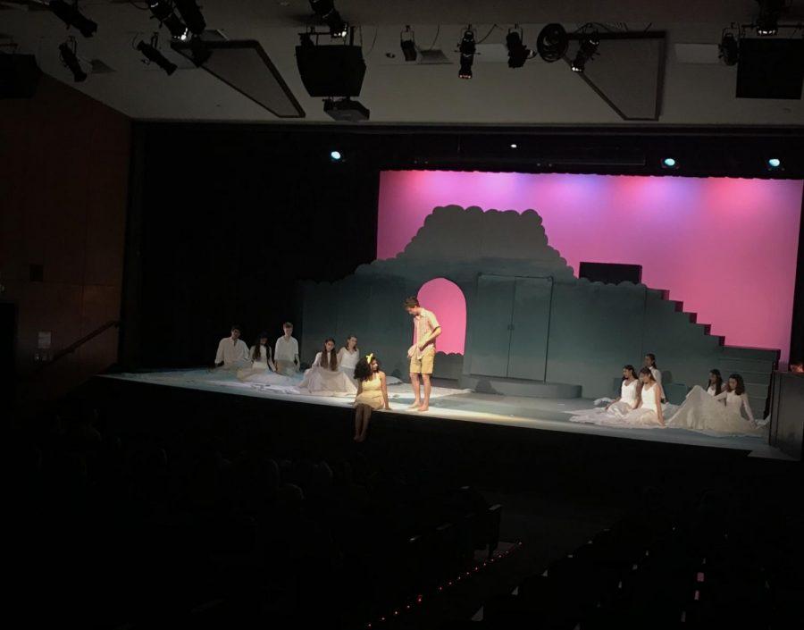Into the Underworld: MVHS Drama showcases its winter play 'Eurydice!'