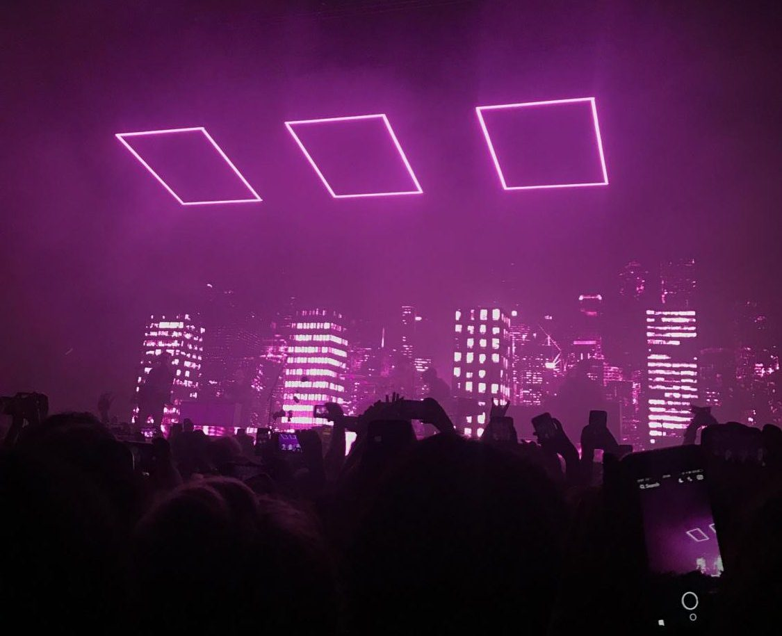 Photo from The 1975 concert
