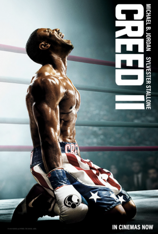 Creed 2 movie poster. Photo taken without permission from IMBD.