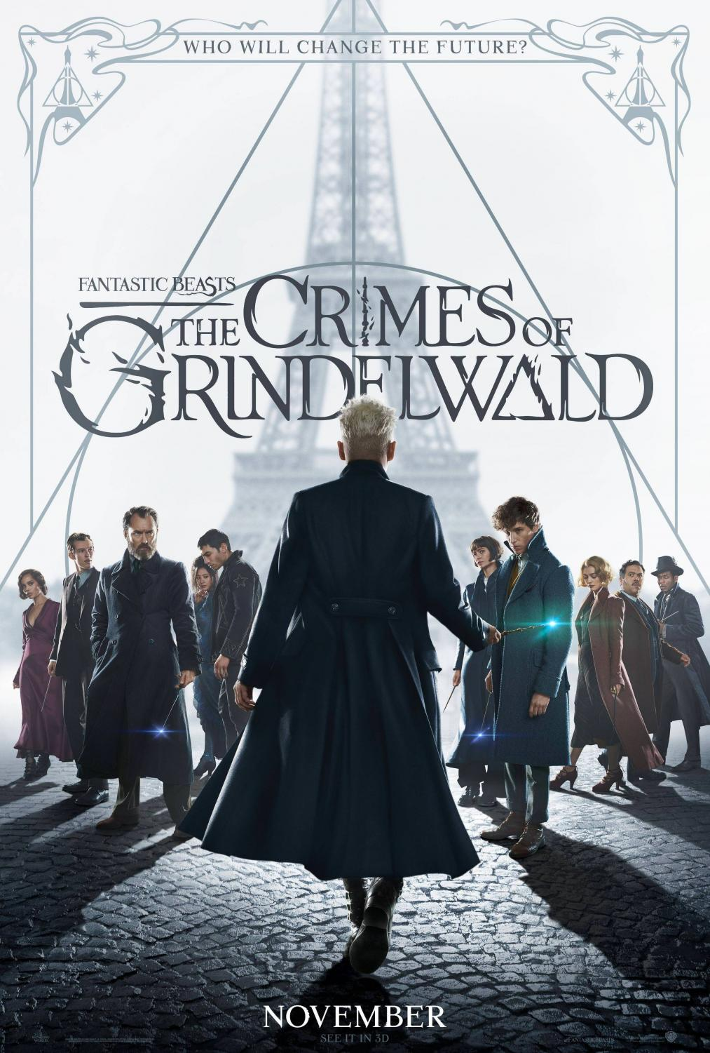 Crimes of Grindelwald movie poster. Photo taken without permission from The Tufts Daily.
