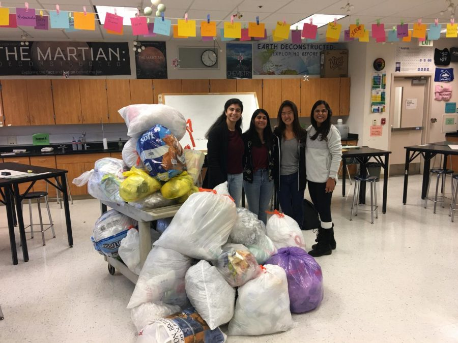 Upping+the+recycling+game%3A+AP+chemistry+teacher+Kavita+Gupta+and+MVHS+students+help+spread+awareness+about+proper+waste+disposal
