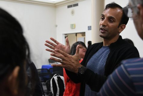 Odd beginnings: DJ Patil visits hometown of Cupertino