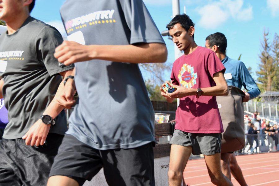 Breaking the world record: Junior Nitin Subramanian's Rubik's Cube run