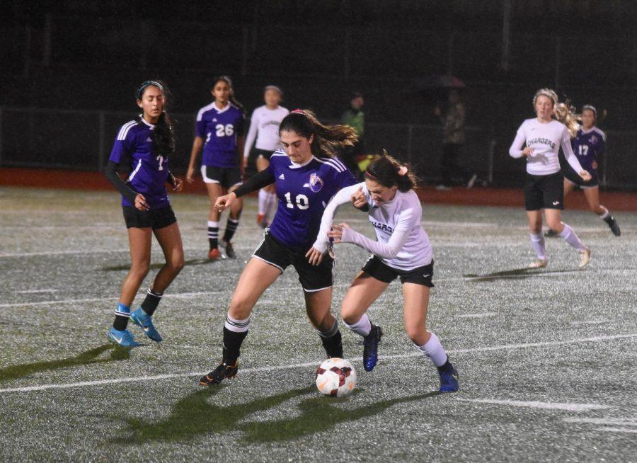 Girls soccer: MVHS falls to WHS on Senior Night