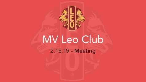 Leo Club updates members on upcoming events