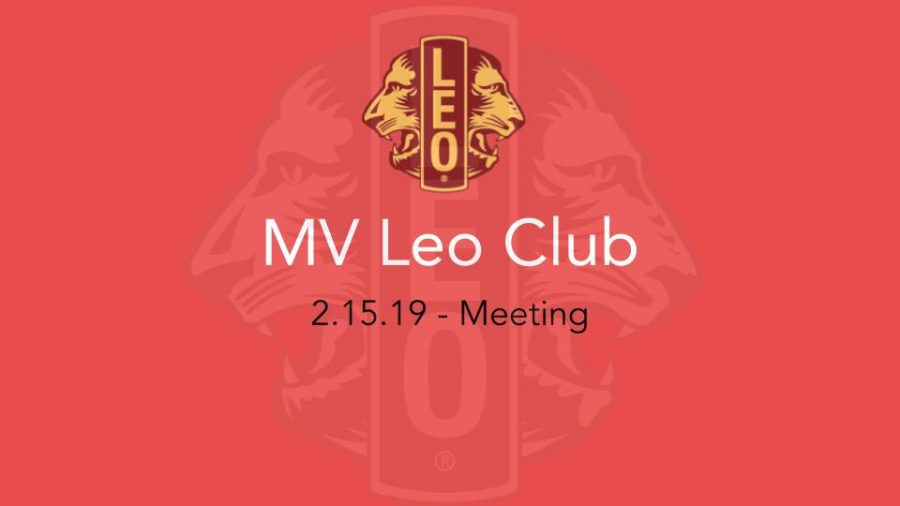 Leo+Club+updates+members+on+upcoming+events