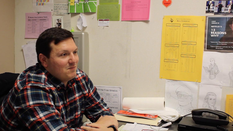 MVHS History Teacher Mr. Owens reacts to a Monta Vista Meme