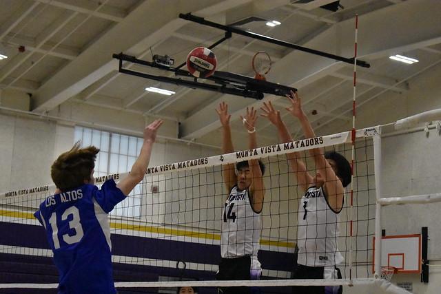 Boys volleyball: MVHS defeats Los Altos HS in straight sets