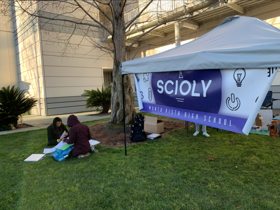 MVHS Science Olympiad competes at the NorCal Regional at San Jose City College.