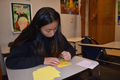 Crafting cards: Key Club celebrates Teacher Appreciation Week