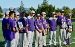 MVHS baseball take home a 3-2 win on senior night