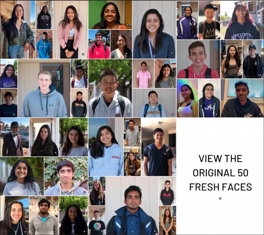 Fifty Not-So-Fresh Faces