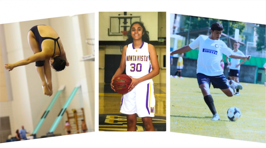 Fall down seven, stand up eight: three students narrate their eventful athletic careers