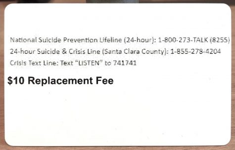 MV's got your back: The reason behind the suicide prevention lines on student ID cards