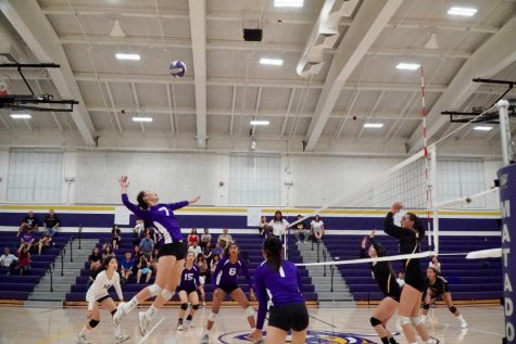 Girls Volleyball: MVHS volleyball wins home opener 3-1