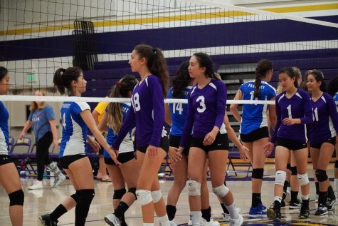 Girls Volleyball: Matadors win against Prospect HS in three sets