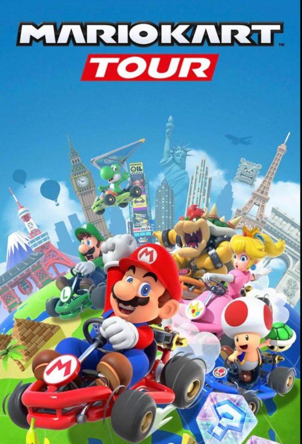 Nintendo releases a mobile version of Mario Kart.