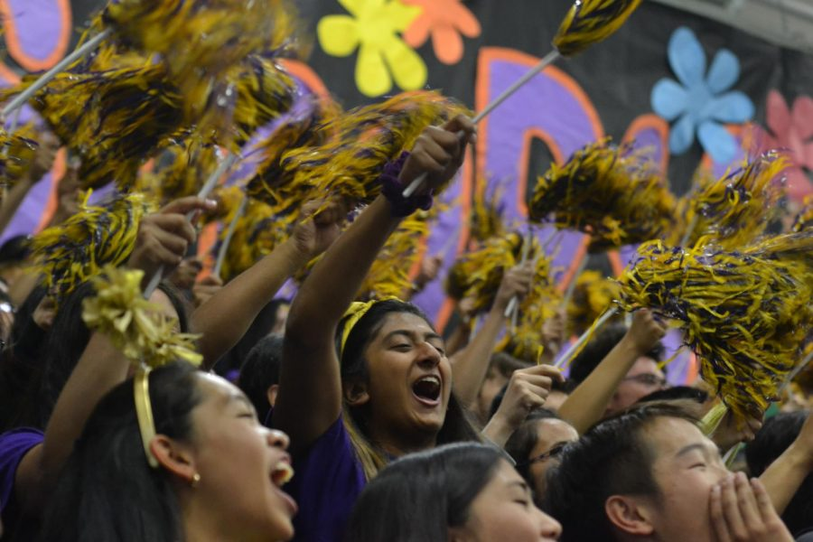 The+seniors+celebrate+their+second+rally+win+of+the+year%2C+with+the+juniors+coming+in+second+place%2C+the+sophomores+in+third+and+the+freshmen+in+fourth+place.+