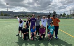 Monta Vista Ultimate Frisbee takes on Spikeball
