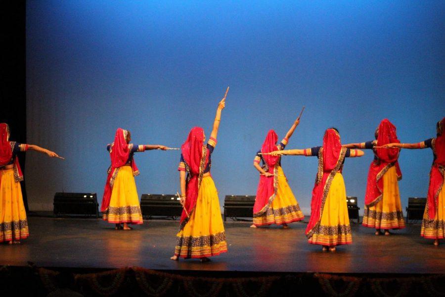MV Raas performing at last year's Spotlite. Photo by Abhilasha Goel