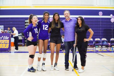 Girls Volleyball: The Matadors lose to Los Altos HS on their senior night