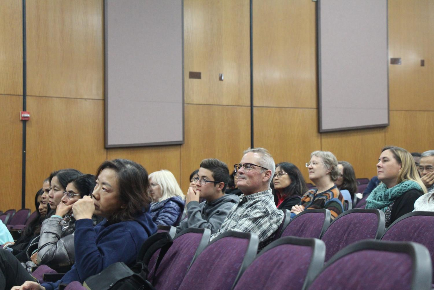 On Nov. 19, students and parents gathered in the auditorium to watch the movie