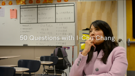 50 Questions with I-Chu Chang