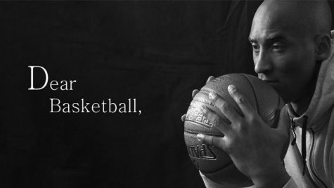 Kobe's Dear Basketball poem // Photo from Ogene African