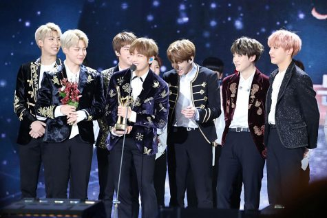 Korean-pop group BTS broke into the American music industry the past couple years