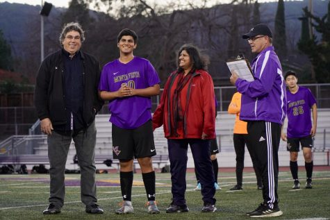 Boys soccer: The Matadors fall to Gunn HS on the team's senior night