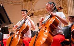 Senior Elena Chen's cello playing experience