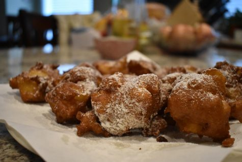 DIY: Apple fritters