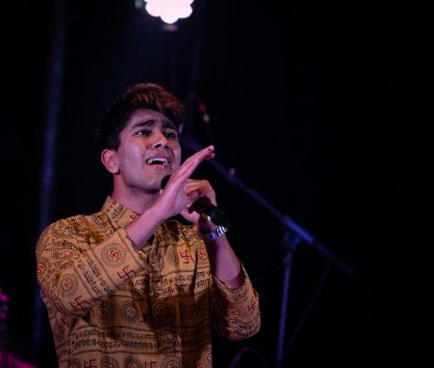 Music across languages: Junior Manas Manu's singing journey