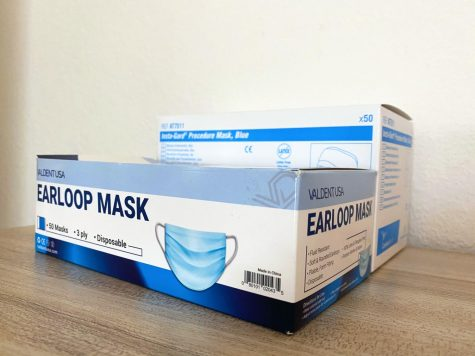Face masks are among the PPE items in need.
