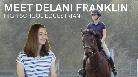 Meet high school equestrian Delani Franklin